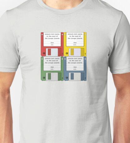 Leisure Suit Larry on 4 floppy discs Unisex T-Shirt