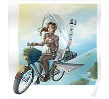 steampunk Victoria Bicicle's Poster