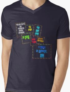 Ask me about my attention deficit disorder... Mens V-Neck T-Shirt