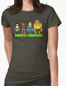 the Bravest Warriors Womens Fitted T-Shirt