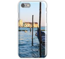 On the Waters of Venice iPhone Case/Skin