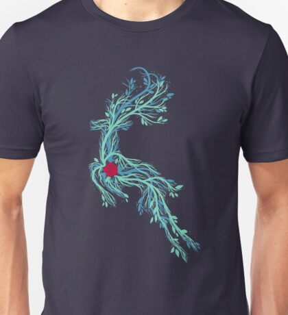 Spirit of Vines - Dark Blue Unisex T-Shirt