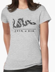 Nebraska Join Or Die Womens Fitted T-Shirt