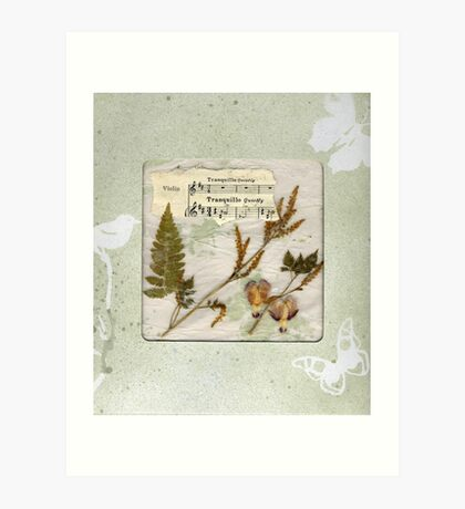 Tranquillo Windowed Gift Box Art Print