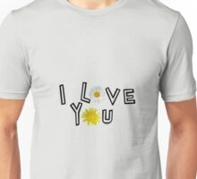 I love you in warm taupe Unisex T-Shirt