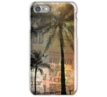 Miami palm trees iPhone Case/Skin