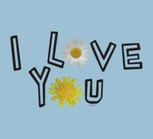 I love you in pale dogwood One Piece - Short Sleeve