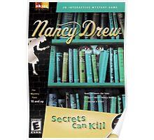 Nancy Drew - Secrets Can Kill (Original, Vintage) POSTER Poster