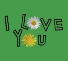 I love you in greenery One Piece - Short Sleeve