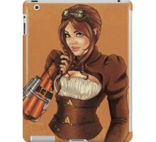 Steampunk Victoria iPad Case/Skin