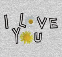 I love you in primerose yellow One Piece - Long Sleeve