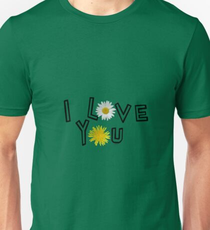 I love you in kale Unisex T-Shirt