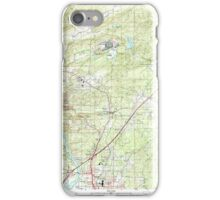 USGS TOPO Map Arkansas AR Malvern North 258999 2000 24000 iPhone Case/Skin