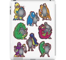 Robots Vs Dinosaurs!  iPad Case/Skin