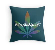 Hemp Renaissance Throw Pillow