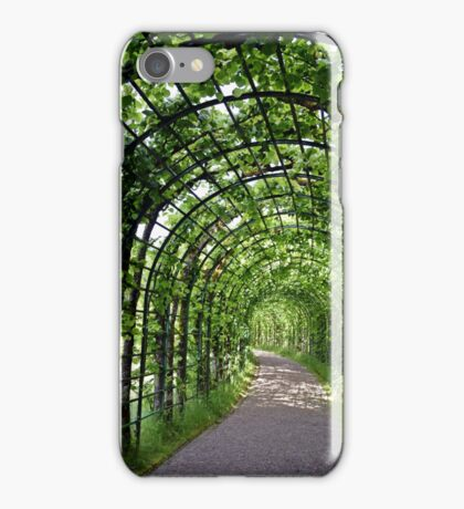 Green Walkway iPhone Case/Skin