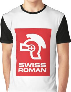 Swiss Roman Graphic T-Shirt