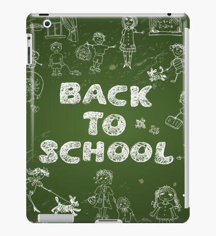 BACK TO SCHOOL iPad Case/Skin