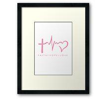 Christian Symbol Framed Print