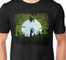 Zombies and a Witch Unisex T-Shirt