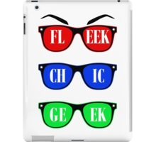 Fleek, Chic, Geek  iPad Case/Skin