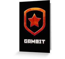 Gambit Gloss Greeting Card