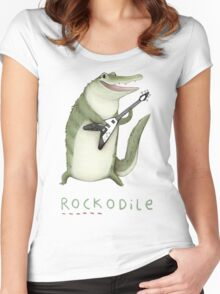 Rockodile Women's Fitted Scoop T-Shirt