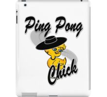 Ping Pong Chick #4 iPad Case/Skin