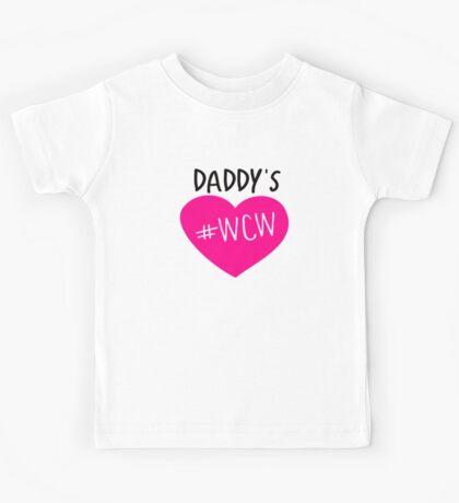Daddy's #WCW Kids Tee