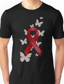 Support Red Ribbon Awareness Unisex T-Shirt