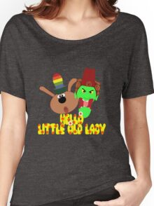 "Chorlton & Kettle Witch-""Hello, Little Old Lady"" Women's Relaxed Fit T-Shirt"