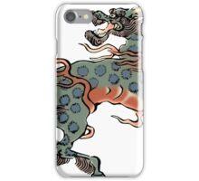 Artwork beast creature fantasy kirin iPhone Case/Skin