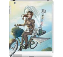 steampunk Victoria Bicicle's iPad Case/Skin