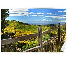 Cripple Creek Autumn Poster
