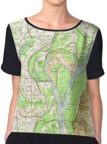 USGS TOPO Map Arkansas AR Jericho 260122 1952 62500 Chiffon Top