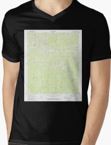 USGS TOPO Map Arkansas AR Marysville 259034 1971 24000 Mens V-Neck T-Shirt