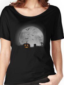 Moonlit Pumpkin Women's Relaxed Fit T-Shirt