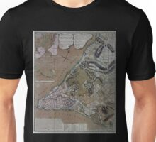 444 Plan of New York City of New York and its environs to Greenwich Town Survey'd in the winter 1775 Unisex T-Shirt