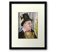 Jimmy the Cricket Framed Print