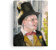 Jimmy the Cricket Canvas Print