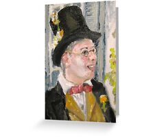 Jimmy the Cricket Greeting Card
