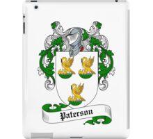 Paterson  iPad Case/Skin