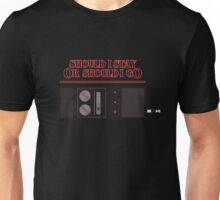 Should I say 'stranger things'? Unisex T-Shirt