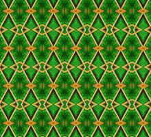 Lattice - Green Sticker
