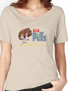 The Secret Life Of Pets Movie  Women's Relaxed Fit T-Shirt