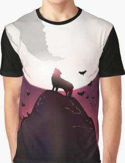 Howl at the Moon Graphic T-Shirt