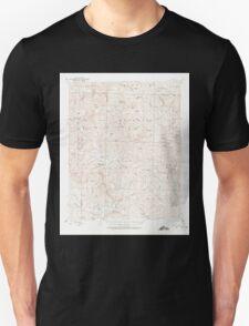 USGS TOPO Map Arkansas AR Treat 260329 1932 62500 Unisex T-Shirt
