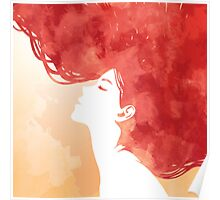 Red Hair Poster
