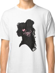 Amy Winehouse Silhouette  Classic T-Shirt