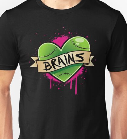 I Heart Brains Unisex T-Shirt